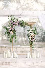 wedding arch greenery when high school sweethearts reconnect the result is beautiful
