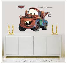 Disney Cars Home Decor Disney Pixar Cars Lightning Mcqueen And Mater Wall Stickers Wall
