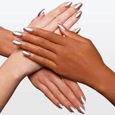 that u0027s what she said rose silver copper metallic nail polish