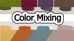 color mixing youtube