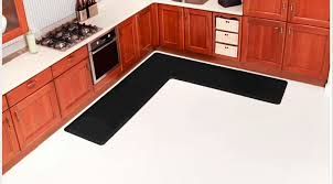 L Shaped Kitchen Rug Country Style Kitchens With L Shaped Vinyl Mats Anti