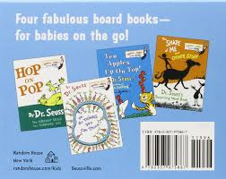 books about the color blue amazon com the little blue box of bright and early board books by