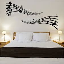 Music Note Home Decor Wall Art Designs Cool Musical Note Wall Art Removable Feature