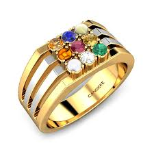 rings online gold images Melvin navaratna ring online jewellery shopping india yellow jpg