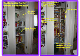 How To Organize A Pantry With Deep Shelves by Ez Stud Rack Ezstudrack Get Organized With Our Customizable