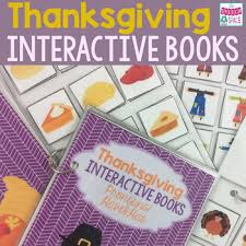 thanksgiving interactive books thanksgiving books and language