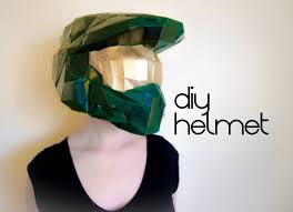 master chief helmet make your own with a pdf download halo