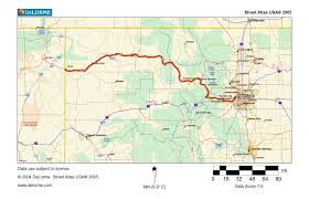 Winter Park Colorado Map by Map 10 U2013 Us 40 Through The Rockies Traveling The Lincoln Highway