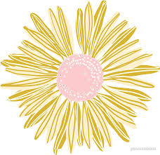 gold flowers gold flower stickers by pencreations redbubble