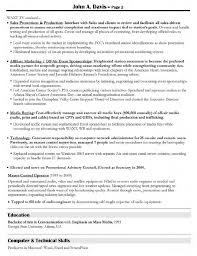 Resume Sample Promotion Within Company by Creative Director Resume Samples Free Resumes Tips