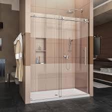 glass sealer for shower doors dreamline enigma x 56 60 in width frameless sliding shower door