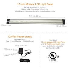 modular under cabinet lighting 12 inch cool white modular led under cabinet lighting premium