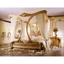 Gold Canopy Bed Wonderful White And Gold Canopy Bed Vine Dine King Bed White