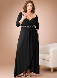 long sleeve evening dresses plus size dress and mode