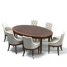 oval dining room tables oval dining table set iammizgin com