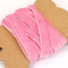 pink velvet ribbon velvet ribbon in 5 colours 3 metres pipii