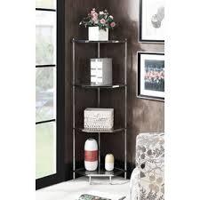 hollywood mirrored bookcase wayfair