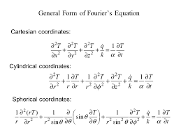 general form of fourier s equation