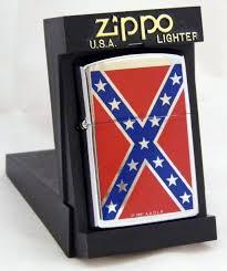 Rebel Flag Gear Zippo Windproof Cigarette Lighter Confederate Flag Cigarette