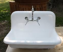 Vintage Cast Iron Kitchen Sink - Kitchen sink cast iron