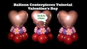 Valentines Day Balloon Decor by Balloon Centerpiece Tutorial Valentine U0027s Day Or Birthday Youtube