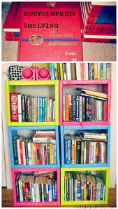 sturdy bookcase for heavy books repurpose bookshelf made of books the refab diaries