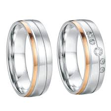 Steel Wedding Rings by Online Get Cheap Promise Rings Titanium Aliexpress Com Alibaba