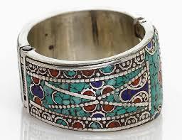clasp cuff bracelet images Vintage style tibetan cuff bracelet spring loaded closure jpg