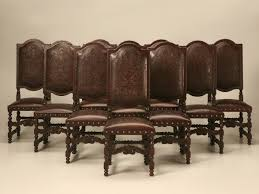 Dining Room Chairs Ebay Dining Room Chair Leather Amazing Oak Chairs Ebay 6 10 Novicap Co
