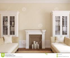 modern living room with fireplace stock photo image 26144970