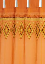Bright Orange Curtains Best 25 Orange Home Curtains Ideas On Pinterest Orange Curtains