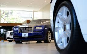 roll royce car inside uptick in luxury car sales a bright spot amid retail lull the