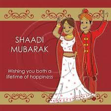 Wedding Greeting Card Wedding Card