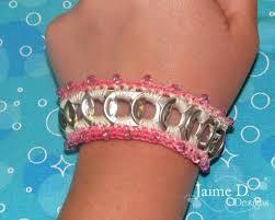 crochet bracelet with beads images Creative crochet bracelet patterns jpg