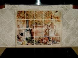kitchen tile murals backsplash kitchen backsplash