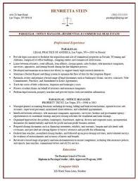Sample Lawyer Resumes by Sample Paralegal Resume Job Interviews