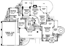 house plans with media room sunken living room media room 81393w architectural designs