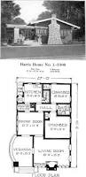 historic plans california bungalow harris home no l 1000