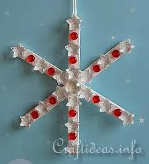 popsicle stick snowflakes pictures photos and images for