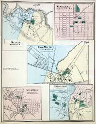 South Park Colorado Map by New Jersey Historical Maps