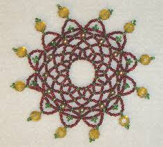 free beaded ornament cover patterns free beaded ornament cover