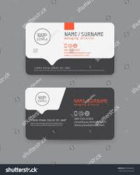 vector modern clean business card template stock vector 283404695