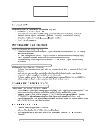 Investment Banking Internship Cover Letter 100 Resume Examples Banking Industry Beautiful Property