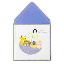 baby presents in umbrella baby shower cards papyrus