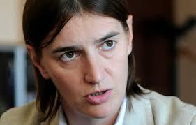 lesbienne bureau serbie brnabic une femme ouvertement lesbienne nommée
