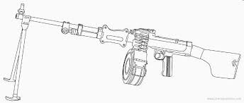 Drawn Snipers Uzi Pencil And In Color Drawn Snipers Uzi Call Of Duty Black Ops Coloring Pages