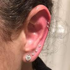 best place to buy cartilage earrings a classical tragus piercing shining like a in this curated