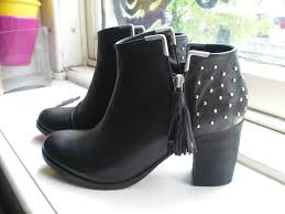 heeled motorcycle boots new shoes black studded biker boots u2013 floating in dreams