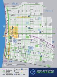 Seattle Bike Map by First Bike Share Program In La Has Launched In Santa Monica