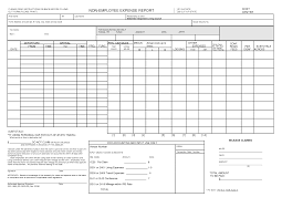 Business Trip Expense Report Template 10 best images of employee travel expense report form the